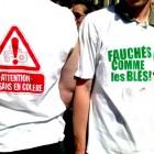 Manifestation des producteurs de fruits et légumes à Paris