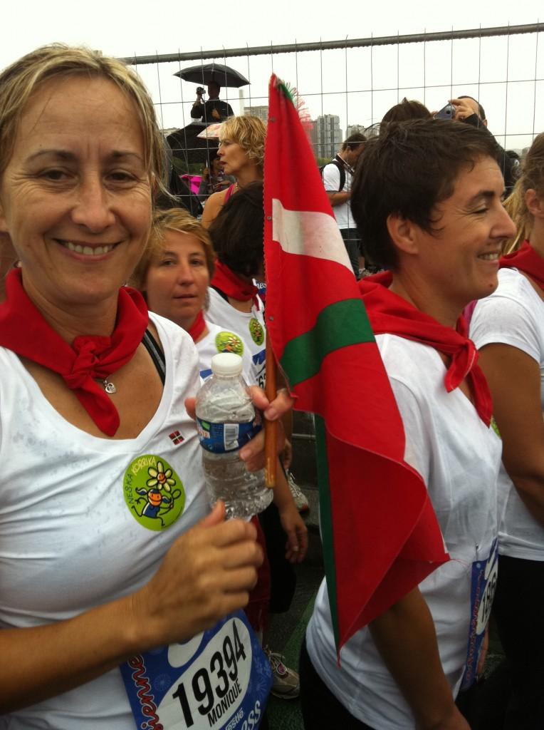 Coureuses aux couleurs du pays basque