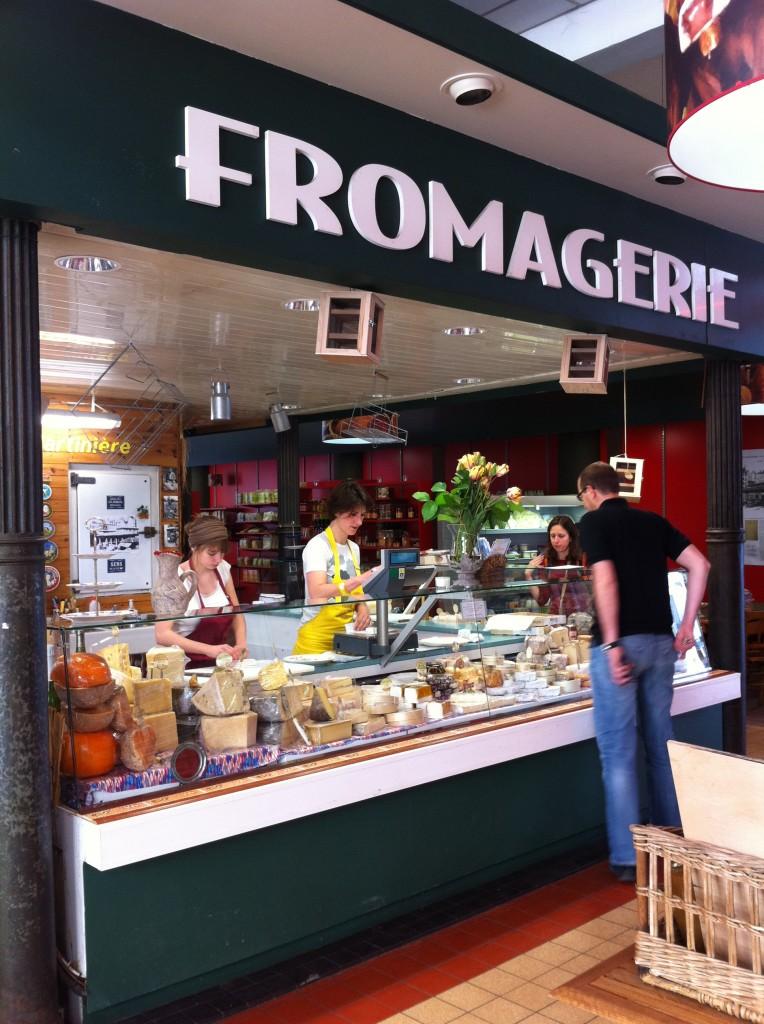 Fromagerie Halle de la martinière