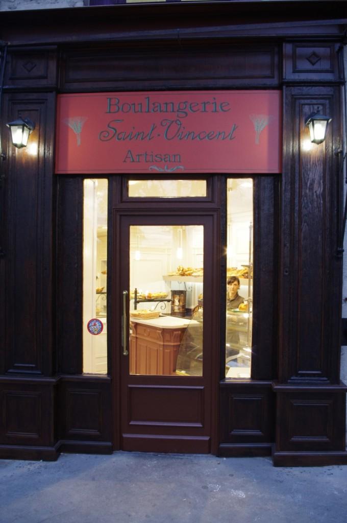boulangerie St vincent