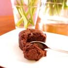 Fondant au chocolat caramel beurre salé, la recette