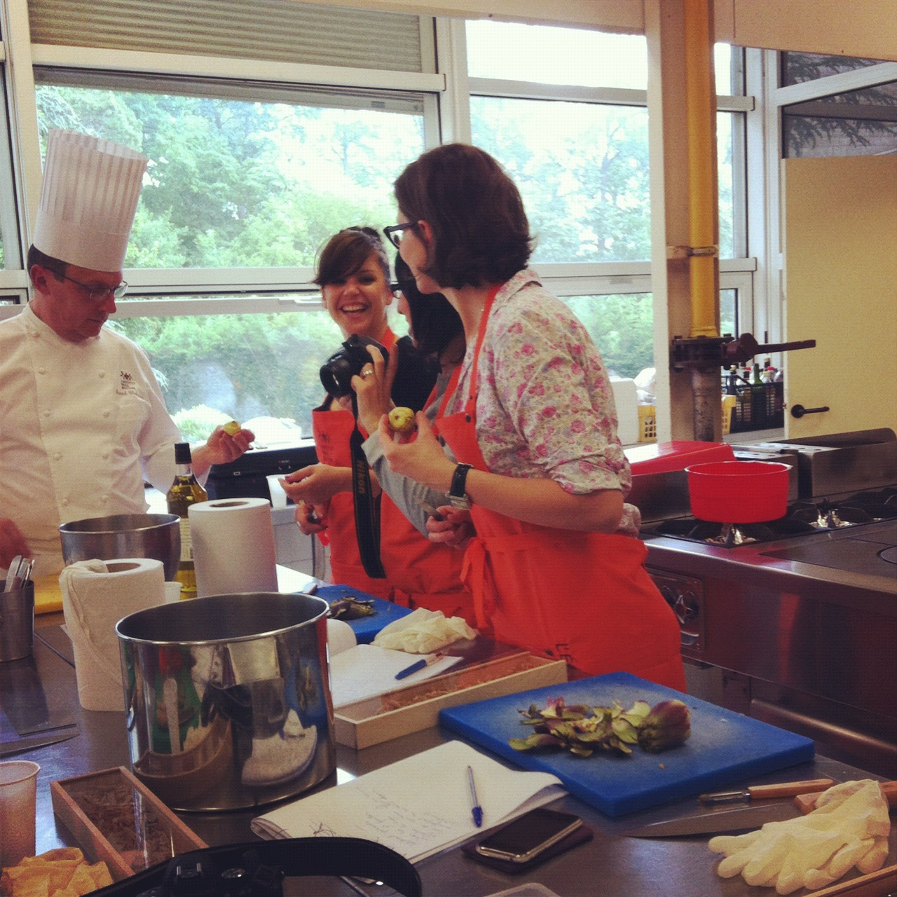 043 le blog de camille - Cours de cuisine bocuse ...